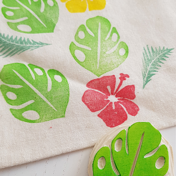 Impression sur tissu by @Rose de Biboun