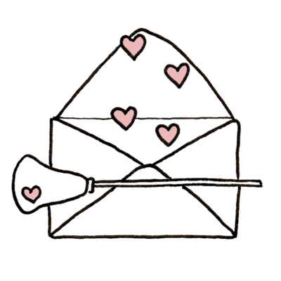 Rose de Biboun Logo Contact