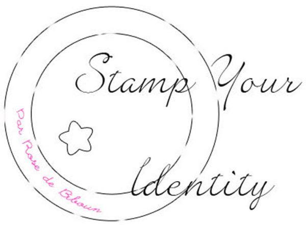 Coffret Stamp Your Identity Tampons sur-mesure gravés main