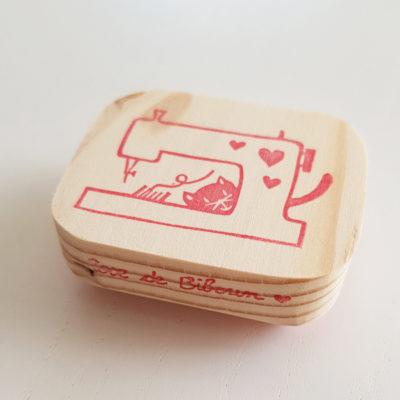 tampon couture machine à coudre