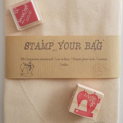 Kit créatif Stamp your bag