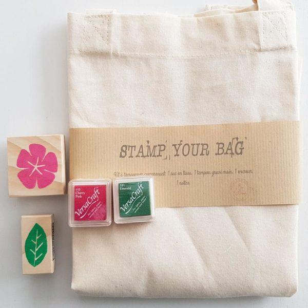 Kit créatif Stamp your bag