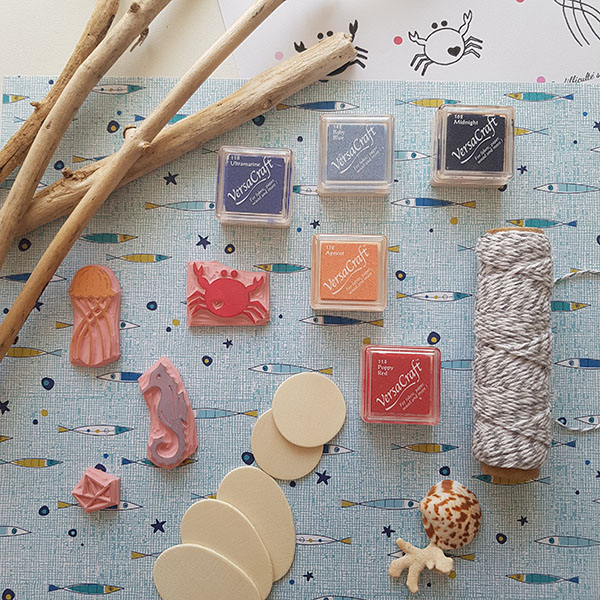Matériel pour DIY suspension décorative mer
